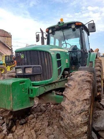 Trator Agrícola John Deere 6145j  4x4  ano 2014  12.550horas - Foto 4