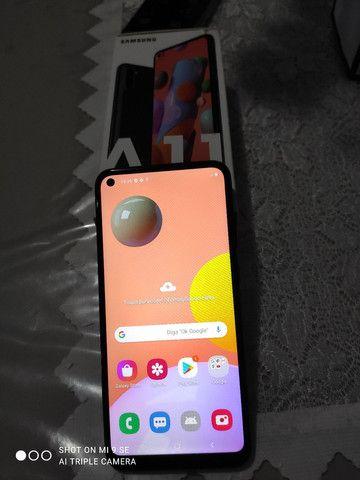 Samsung A11, novo, com garantia