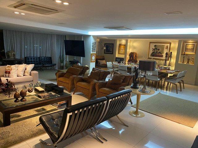 (RBA) Alugo apt. luxuoso, 240m², 3 Suítes, lazer, decorado e mobiliado, vista incrível! - Foto 4