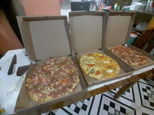 Pizzas G 8 pedaços 25 reais - Foto 4
