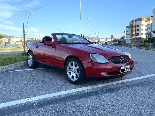Mercedes SLK 230 - mecânica- vermelha - 1996/1997 - Foto 4