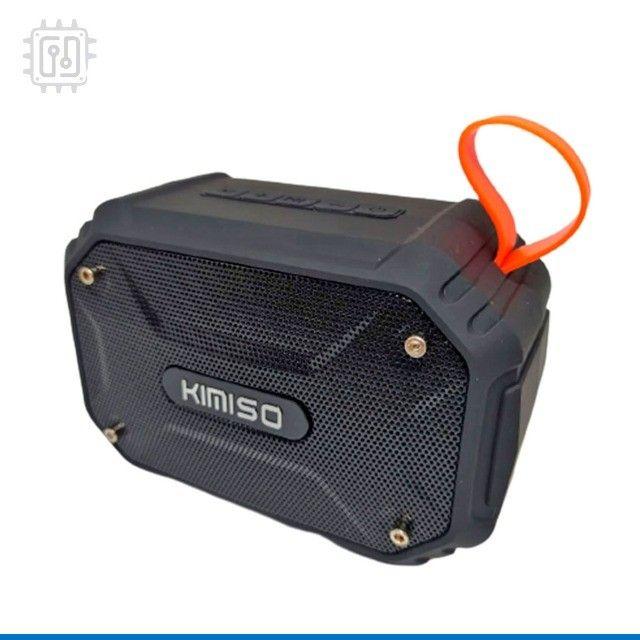 Caixa De Som Bluetooth Portátil Rádio Resistente À Água Som Potente - Foto 5