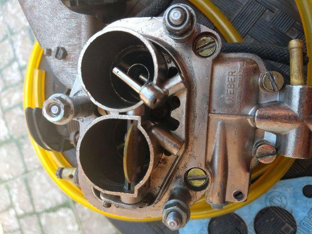 Carburador Mini-progressivo Weber Álcool  - Foto 3