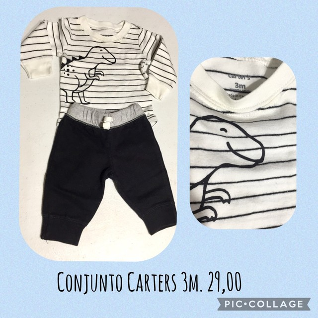 Roupas Carters bebê 3m  - Foto 6
