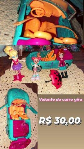 Brinquedos da Polly e seus acessórios - Foto 3