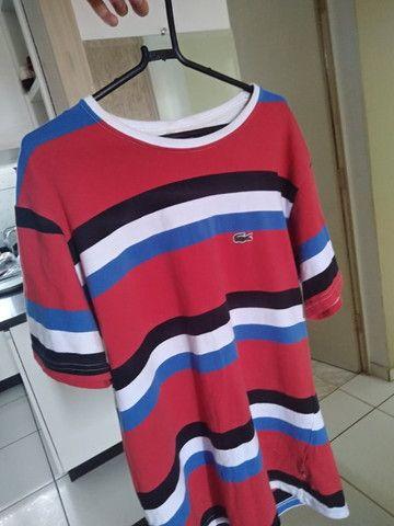 Camisa Lacoste G Listrada - Foto 2