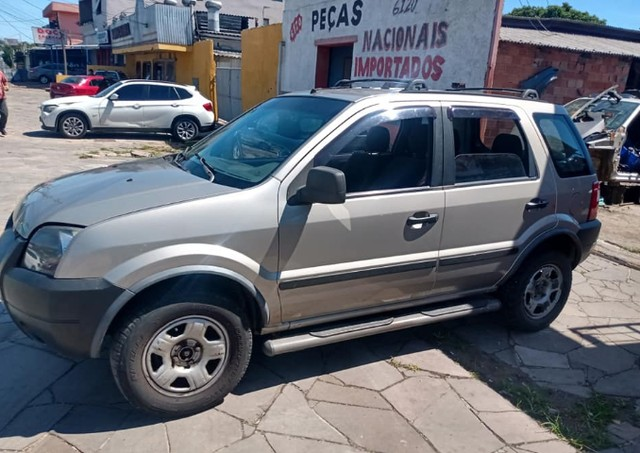 Sucata Peças Ford Ecosport zetec rocam completa tudo em peças