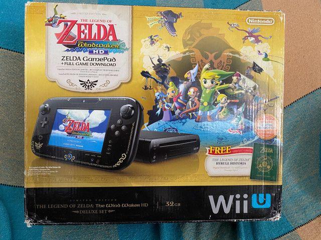Wiiu edição especial zelda Wind Waker parcelo s/ juros!