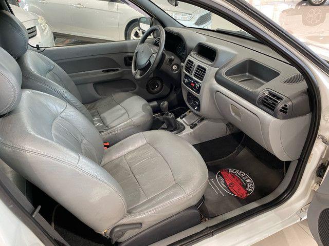 Renault Clio Completo 2 Portas 2011, Bancos Couro, Valor Repasse . - Foto 6