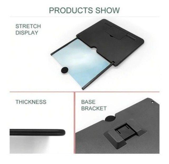 Lente Amplificadora De Tela Para Smartphone Lupa - Foto 3