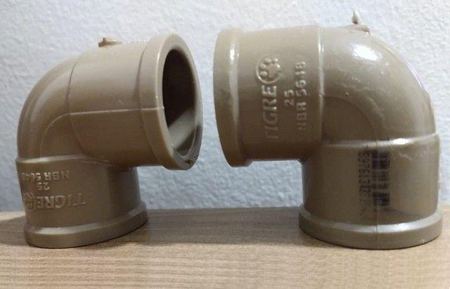 Joelho Cotovelo 45° e 90°, Plug, Adaptador, Cap, Redutor, União - Foto 5