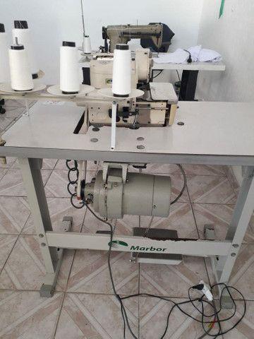 Maquina reta e máquina interlock industrial - Foto 5