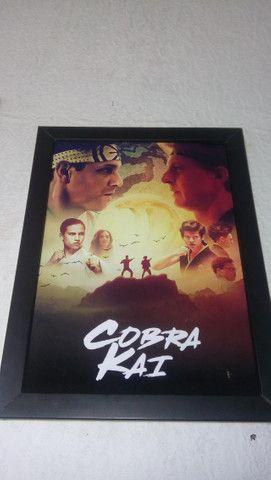 Quadros Karate Kid e Cobra Kai - Foto 2