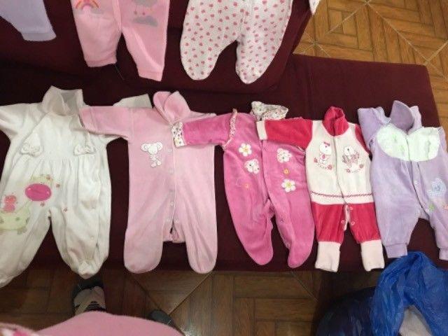 Roupinhas de bebê menina de 0 a 6  - Foto 4