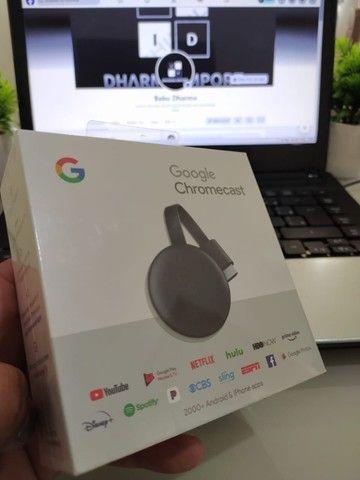 Chromecast 3 original lacrado.
