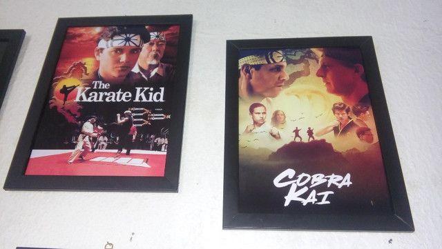 Quadros Karate Kid e Cobra Kai - Foto 6