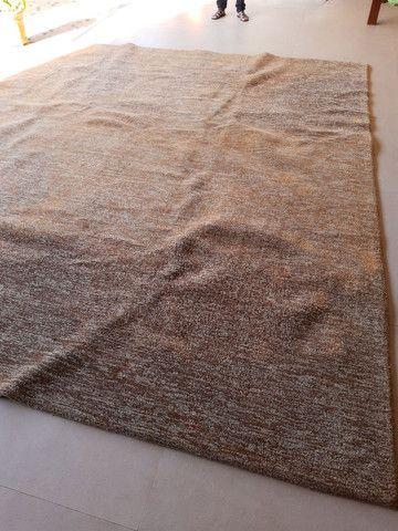 Tapete marron mesclado 3,20x 3,50 - Foto 3