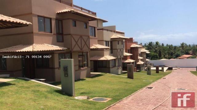 Casa de condomínio à venda com 3 dormitórios em Imbassaí, Mata de são joão cod:371 - Foto 17