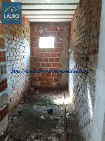Vende-se casa na Lajinha em Construção - Foto 2