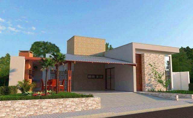 Fantástica casa em construção no condomínio Serraville - Vale a pena conhecer