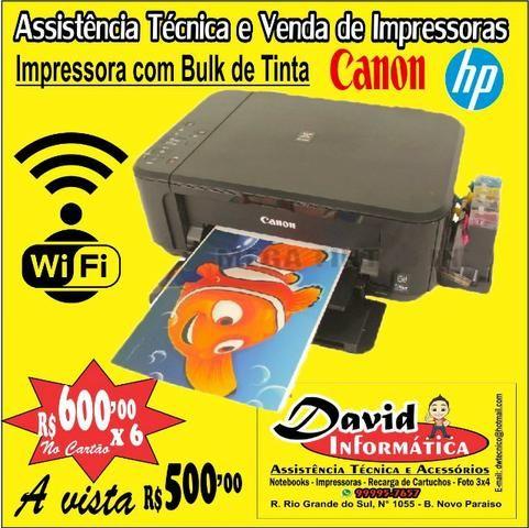 Impressora tanque Bulk de Tinta ) Imprima ++ ) Promoção Produto Novo 3 Meses de Garantia