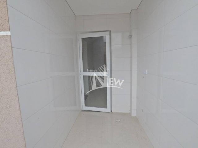 Apartamento térreo com GARDEN, 02 quartos no Parque da Fonte, São José dos Pinhais - Foto 8
