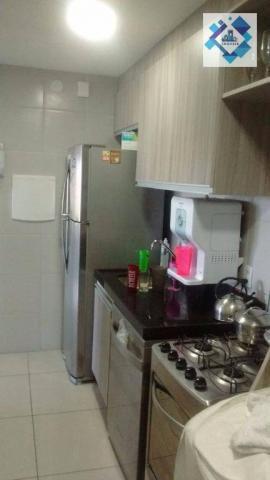 Apartamento com 3 dormitórios à venda, 72 m² por R$ 460.000,00 - Guararapes - Fortaleza/CE - Foto 3