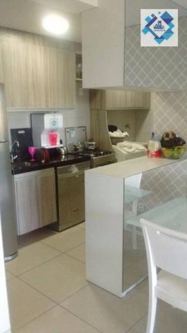 Apartamento com 3 dormitórios à venda, 72 m² por R$ 460.000,00 - Guararapes - Fortaleza/CE - Foto 7