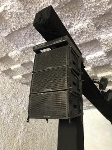 Line attack vrd 108a caixa de som