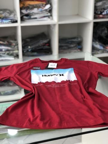 Camisa Hurley vermelha T-M Original - Roupas e calçados - Itapuã ... b060efc0703