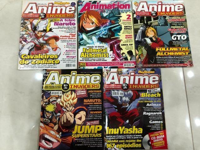 Revista Anime Invaders -Diversos volumes - Foto 3