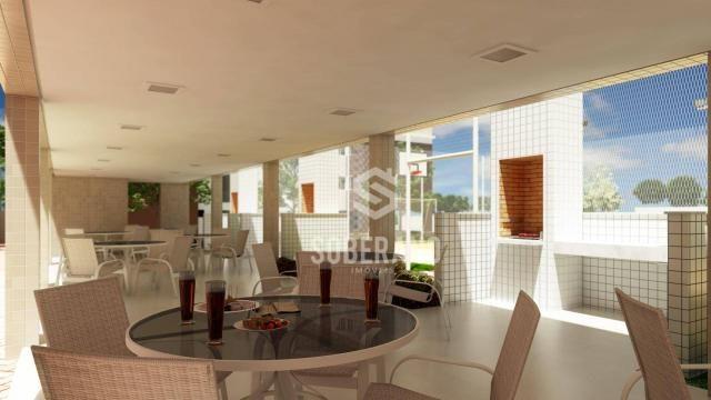 Apartamento com 3 dormitórios à venda, 78 m² por R$ 377.266 - Bancários - João Pessoa/PB - Foto 2