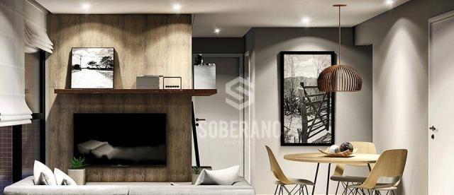 Apartamento com 2 dormitórios à venda, 54 m² por R$ 204.000 - Jardim Cidade Universitária  - Foto 16