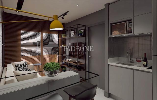 Apartamento à venda com 1 dormitórios em Bacacheri, Curitiba cod:AP0207 - Foto 2