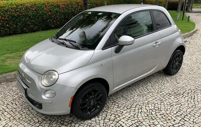 Fiat 500 cult 1.4 flex 2012 mecânico 2020 pago oportunidade
