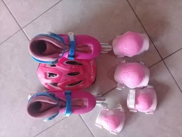 Patins com kit de proteção. R$170,00 - Foto 5
