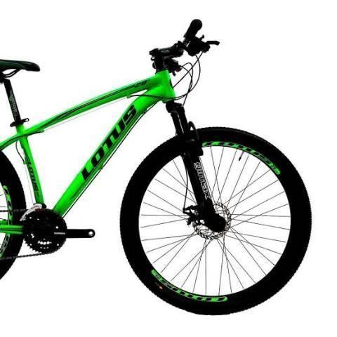 Bicicleta aro 29 Lotus alumínio//quadro tam:19 - Foto 2