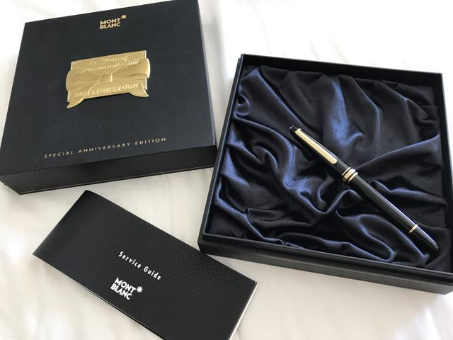 Caneta Montblanc 75 Years of Passion and Soul Special Edition
