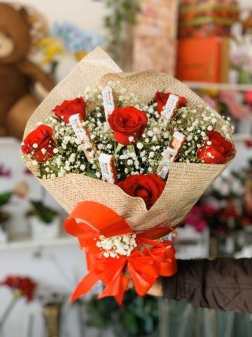 Flores buquês cestas - Foto 4