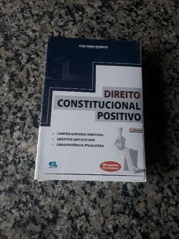 DIREITO CONSTITUCIONAL POSITIVO - 2. ED.
