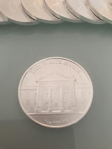 20 moedas de prata 999do Trump 1 onça cada - Foto 5