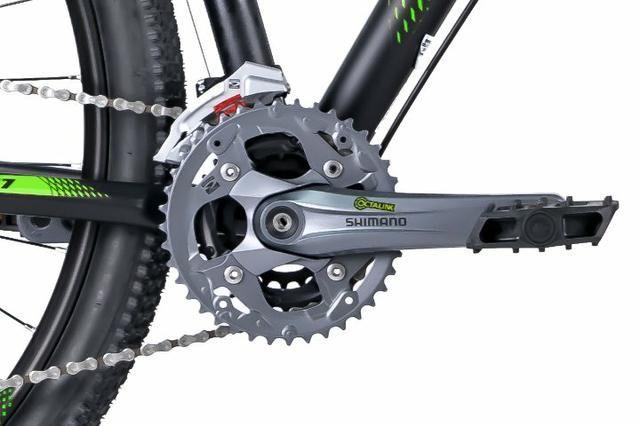 Bicicleta MTB Oggi Big Wheel 7.1 29 Tamanho 17 Super Promoção + Brindes Com Nota Fiscal - Foto 3