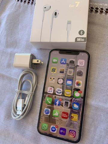 IPhone X 256GB Silver - praticamente sem uso - novissimo - completo - Foto 2