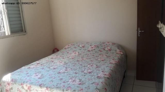 Casa Usada para Venda em Várzea Grande, Novo Mundo, 3 dormitórios, 1 suíte, 2 banheiros, 2 - Foto 3
