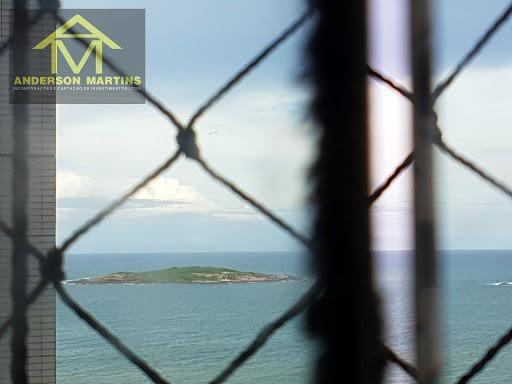 Apartamento de 04 quartos, 01 suíte com vista eterna para o mar