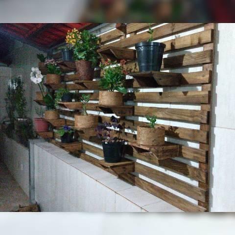 Painéis de planta de palete e pinus