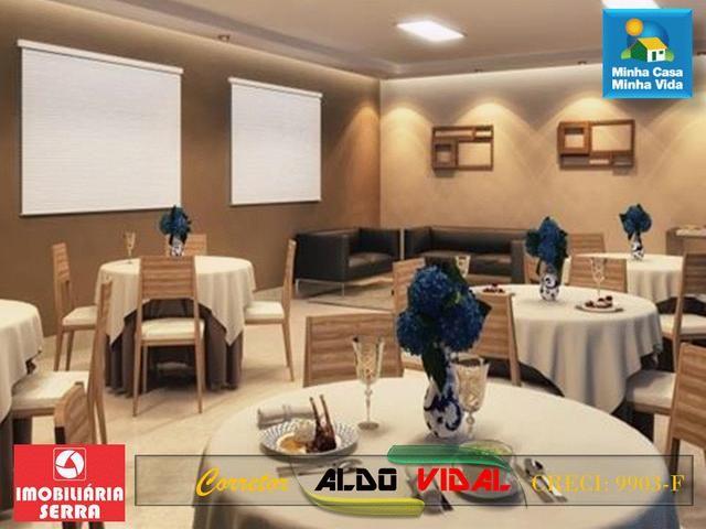ARV 96 Apartamento Novo 2 Quartos, Condomínio Club. Carapebus, Serra - ES - Foto 12
