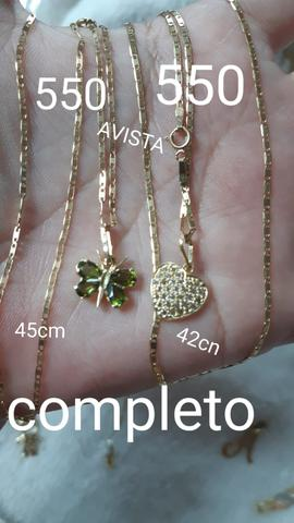 Ouro 18k 750