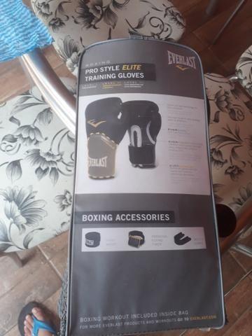 Luvas de box + saco de pancadas - Foto 3