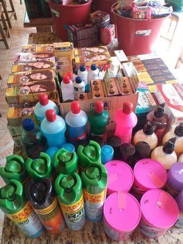 Venda de produtos (fundo de loja)